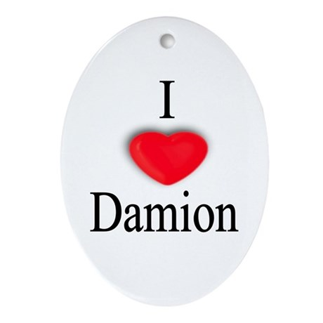 Damion Oval Ornament