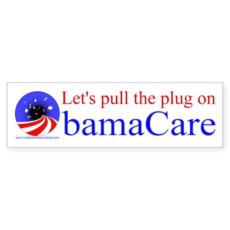 Let's Pull the Plug on ObamaCare bumper sticker