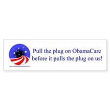 Pull the Plug on ObamaCare bumper sticker