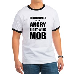 Angry, right-wing mob T
