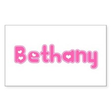 """""""Bethany"""" Rectangle Decal"""