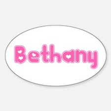 """Bethany"" Oval Decal"