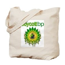 Boycott BP Design Tote Bag