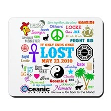 Loves Lost Mousepad