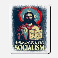 Democratic socialism Mousepad