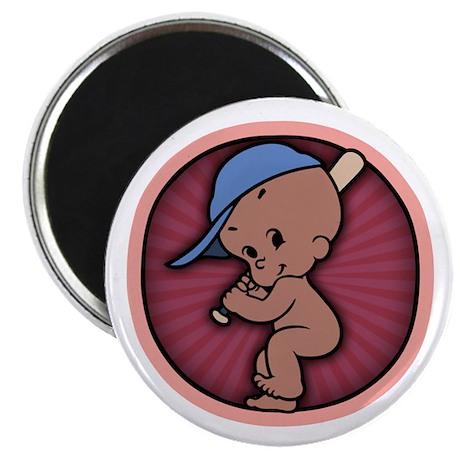 """Batter Up! -DS 2.25"""" Magnet (100 pack)"""