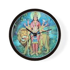 Durga Wall Clock