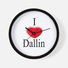 Dallin Wall Clock