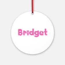 """Bridget"" Ornament (Round)"