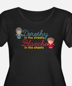 GG Dorothy Blanche Plus Size T-Shirt