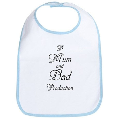 Mum and Dad Production Bib