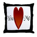 You Love Me Throw Pillow