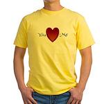 You Love Me Yellow T-Shirt