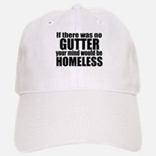 MIND in the GUTTER Baseball Baseball Cap