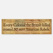 British Blowback Bumper Bumper Sticker