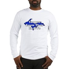 Yoopers Know Their Eh B C's Long Sleeve T-Shirt