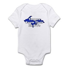 Yoopers Know Their Eh B C's Infant Bodysuit