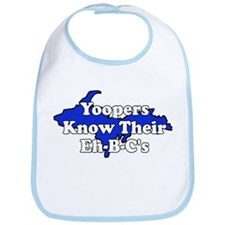 Yoopers Know Their Eh B C's Bib