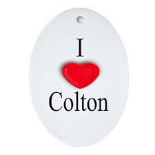 Colton Oval Ornament