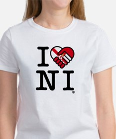 Women's 'I Love N.I.' T-Shirt