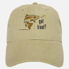 "'Got Trout?"" Ball Baseball Baseball Cap"