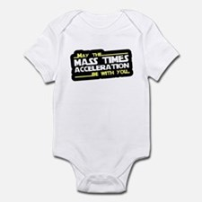 May The Mass Times Accelerati Infant Bodysuit