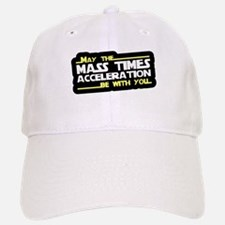 May The Mass Times Accelerati Baseball Baseball Cap