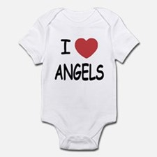 I heart angels Infant Bodysuit