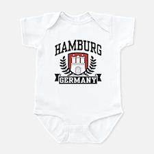 Hamburg Germany Infant Bodysuit