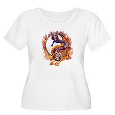 Dragon Tiger Yin Yang T-Shirt