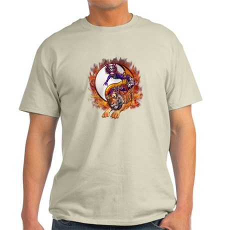 Dragon Tiger Yin Yang Light T-Shirt