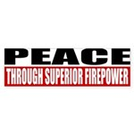 PEACE Sticker (Bumper 10 pk)