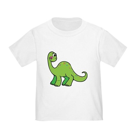 Green Dinosaur Toddler T-Shirt