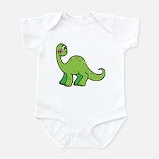 Green Dinosaur Infant Creeper