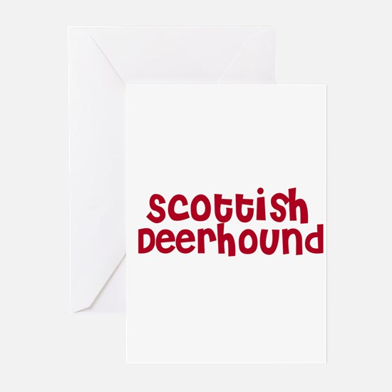 Scottish Deerhound Greeting Cards (Pk of 10)