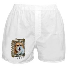 Stone Paws Corgi Boxer Shorts