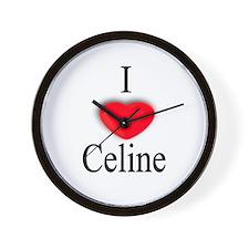 Celine Wall Clock