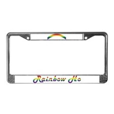 Rainbow Ho License Plate Frame