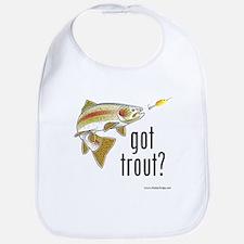 """Got Trout?"" Bib"