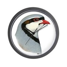 Chukar Partridge Head Wall Clock