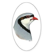 Chukar Partridge Head Decal