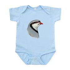 Chukar Partridge Head Infant Bodysuit