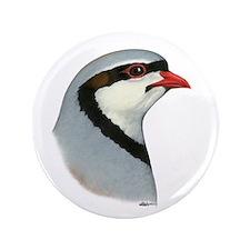 """Chukar Partridge Head 3.5"""" Button (100 pack)"""