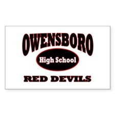 RED DEVILS: Decal
