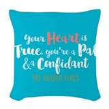 Goldengirlstv Woven Pillows