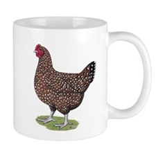 Speckled Sussex Hen Small Mug
