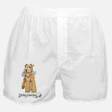 Airedale Good News! Boxer Shorts