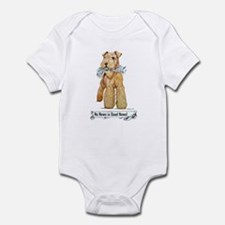 Airedale Good News! Infant Creeper