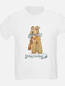 Airedale Good News! Kids T-Shirt