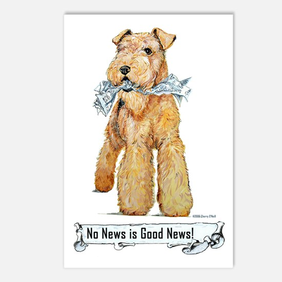 Airedale Good News! Postcards (Package of 8)